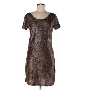 Free People Bronze/Metallic Dress